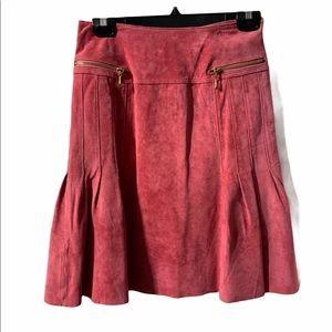 NWT Danier Suede Midi Skirt